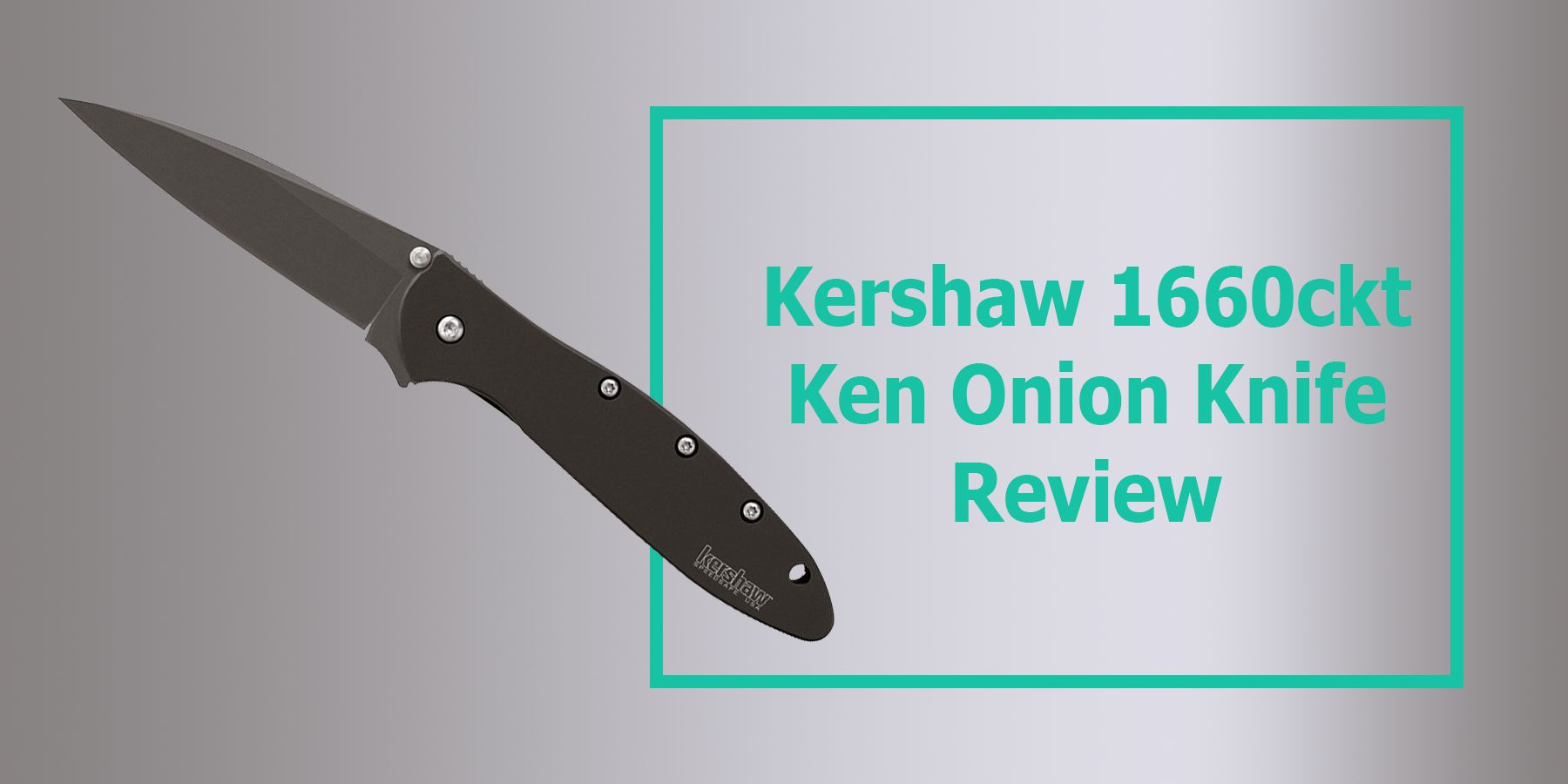 Kershaw 1660ckt Ken Onion Review - Leek Folding Knife