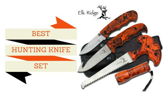 Best Hunting Knife Set