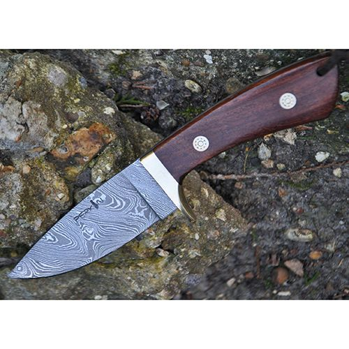 Custom Damascus Handmade Hunting Knife